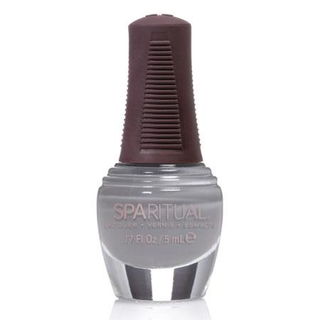 Image of Sparitual Mini-Neglelak blå grå - 5 ml.