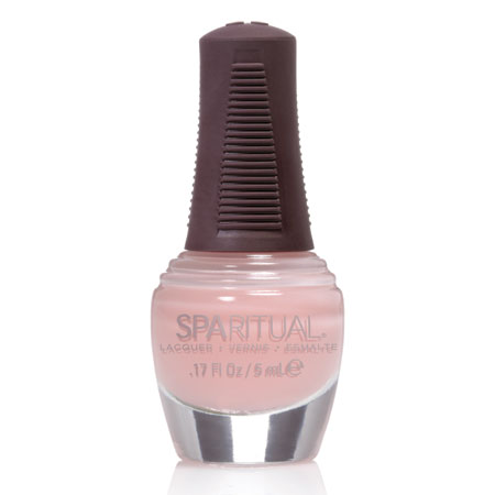 Image of Sparitual Mini-Neglelak lyserød manicure - 5 ml.