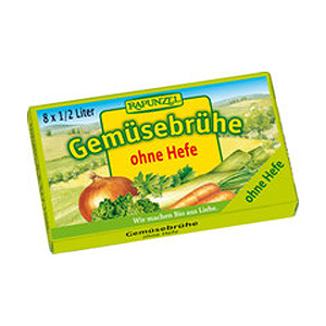 Bouillon vegetabilsk 8 tern uden gær Ø - 96 gr