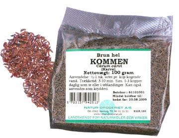 Image of   Kommen hel brun Natur Drogeriet - 1 kg.