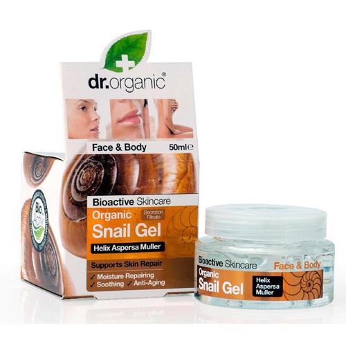 Dr. Organic Snail Gel face & body - 50 ml