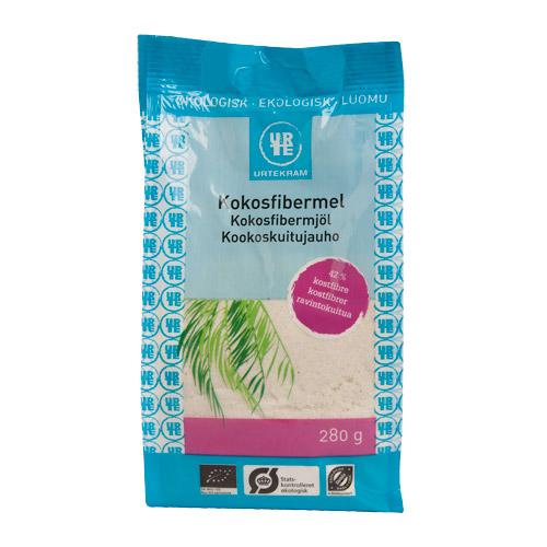 Kokosfibermel Økologisk fra Urtekram - 280 gram