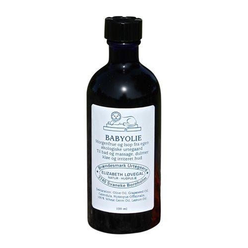 Babyolie fra Elizabeth Løvegal - 100 ml.