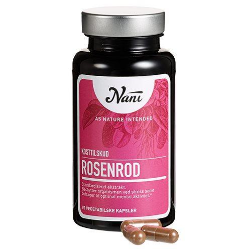 Rosenrod fra Nani - 90 kapsler
