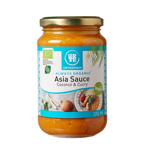 Image of   Urtekram Asia Sauce Kokos & Karry (325 ml)