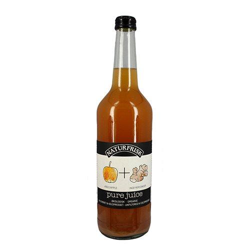 Pure juice æble/ingefær Ø