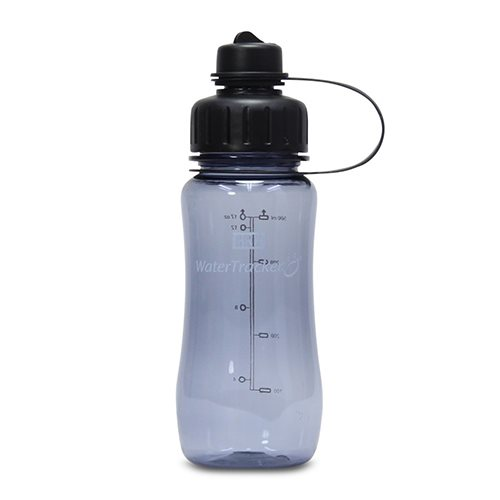 WaterTracker BRIX Drikkedunk Sort - 500 ml.