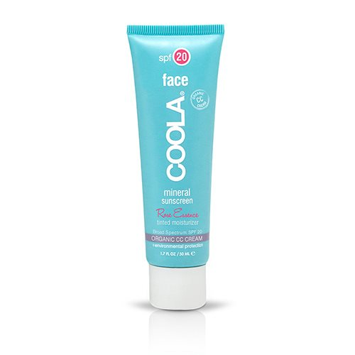 Image of   Coola Mineral Facelotion Tinted rose SPF20 - 50 ml
