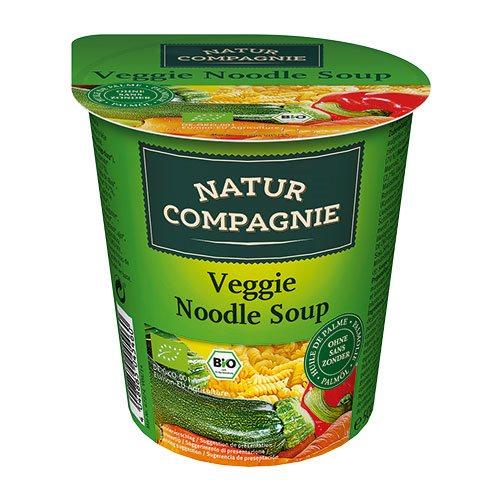 Grøntsags- og nuddelsuppe Asiatisk instant Ø 55 gr
