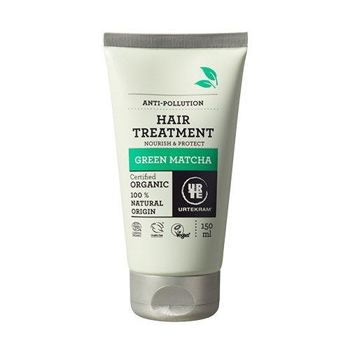 Billede af Urtekram Hair treatment Green Matcha (150 ml)