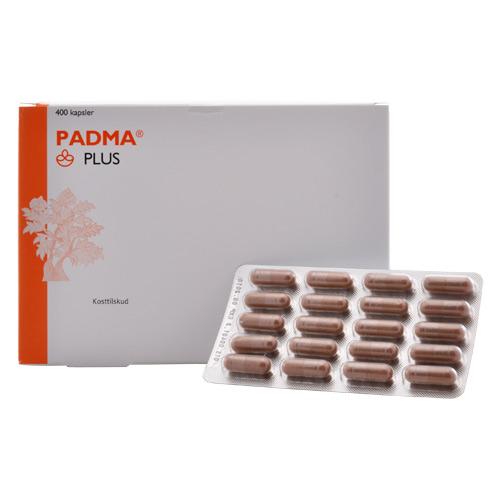 Padma Plus - 400 kapsler