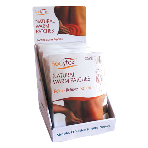 Image of Natural Warm Patches fra Bodytox - 2 stk