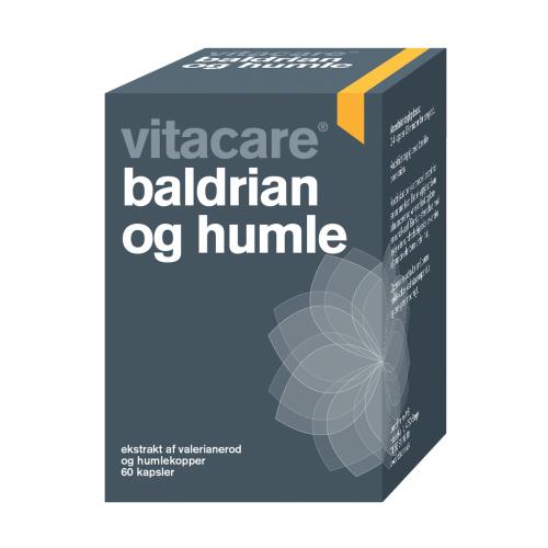 Baldrian og Humle VitaCare - 60 tab.