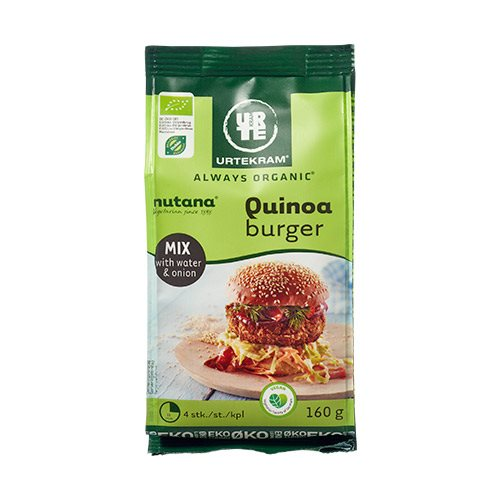 Image of   Urtekram Quinoa Burger Mix Ø