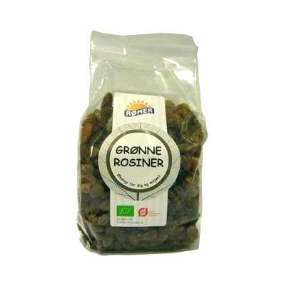 Rosiner grønne fra Rømer Økologiske - 300 gram