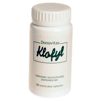 Image of Klofyl - 500 tabletter