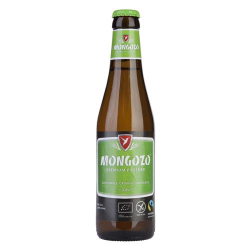 Mongozo glutenfri øko-øl  5%  - 330 ml.