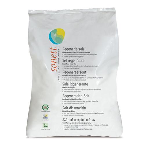 Sonett Salt til opvaskemaskine - 2 kg.