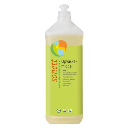 Image of Sonett Opvaskemiddel citron - 1 liter