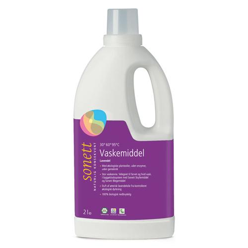 Image of Sonett Vaskemiddel lavendel - 2 liter