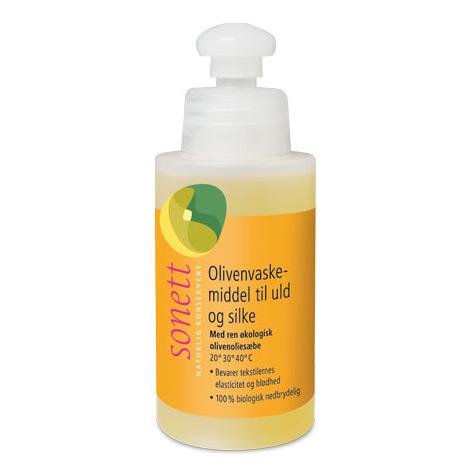 Image of Sonett Oliven Vaskemiddel til uld og silke 120 ml.