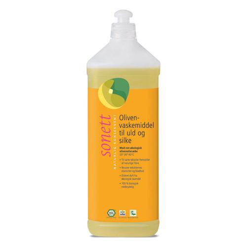 Image of Sonett Oliven Vaskemiddel til uld og silke 1 liter