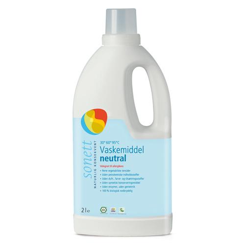 Sonett Vaskemiddel Neutral - 2 liter