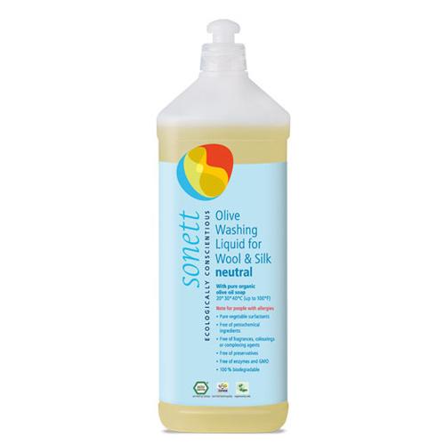 Sonett Vaskemiddel til uld og silke - 1 liter