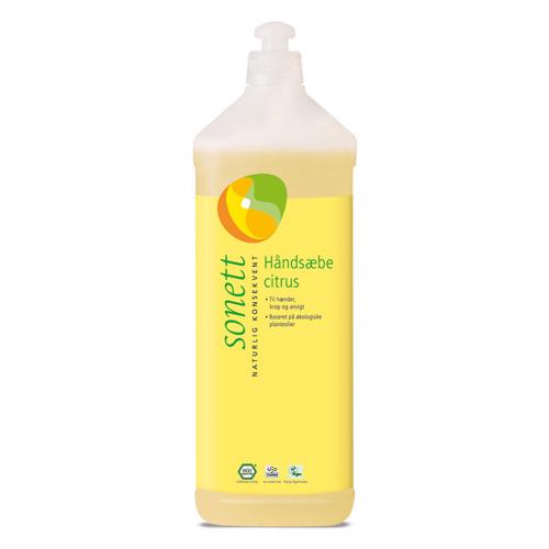 Image of Sonett Håndsæbe citrus - 1000 ml.