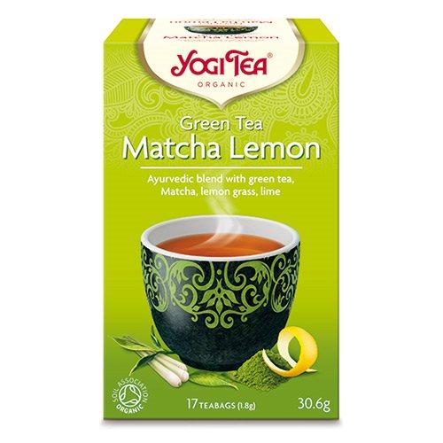 Image of Yogi matcha lemon Green tea Økologisk - 17 breve