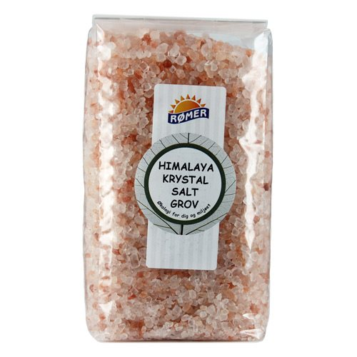 Image of   Himalaya krystalsalt groft fra Rømer - 1 kg.
