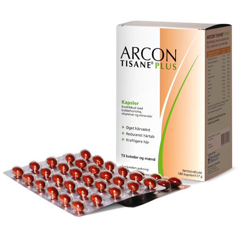 Image of Arcon Tisane Plus - 180 kapsler