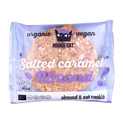 Billede af Kookie Cat Salted karamel mandel Ø (50 g)