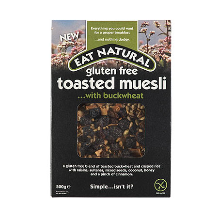 Image of Eat Natural glutenfri mysli med boghvede - 500 gr
