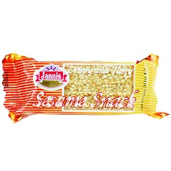 Sesam snackbar Jannis - 30 gram