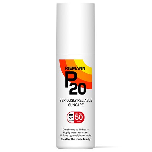 Image of   P20 Solbeskyttelse SPF 50 Spray (100 ml)