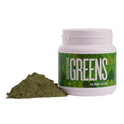Image of Greens by High on Life Økologisk - 200 gram