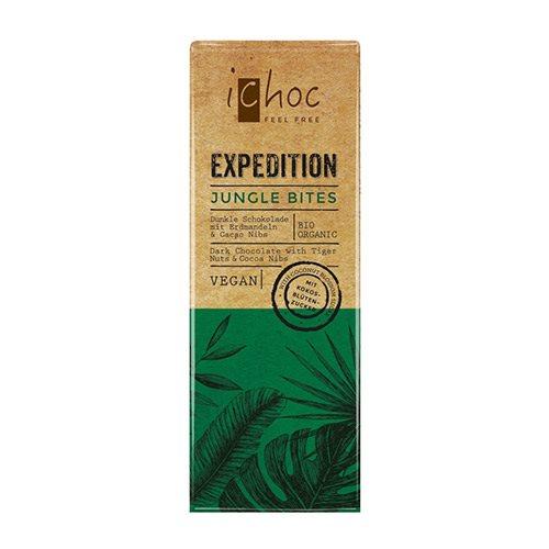Image of Ichoc Jungle Bites vegansk øko chokolade - 50 gram