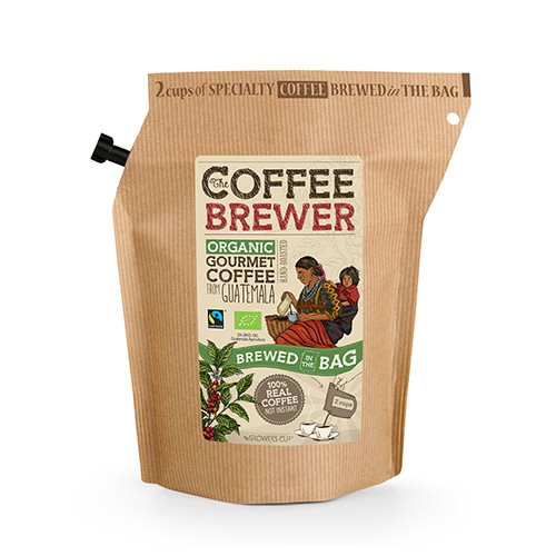 Kaffe Guatemala Økologisk fra Growers Cup - 20 gr