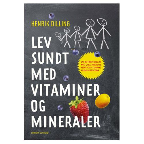Image of Lev sundt med vitaminer og mineraler - Bog