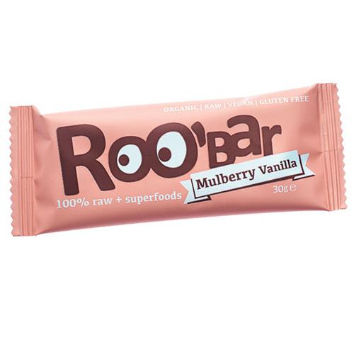 Image of Roobar morbær & vanilje Raw økologisk - 30 gram