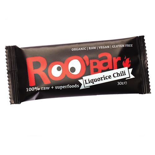 Image of Roobar lakrids & chilli Raw økologisk - 30 gram