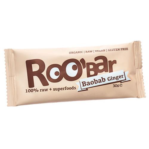 Image of Roobar baobab & ingefær Raw økologisk - 30 gram