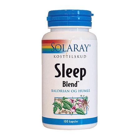 Sleep Blend fra Solaray - 100 kapsler