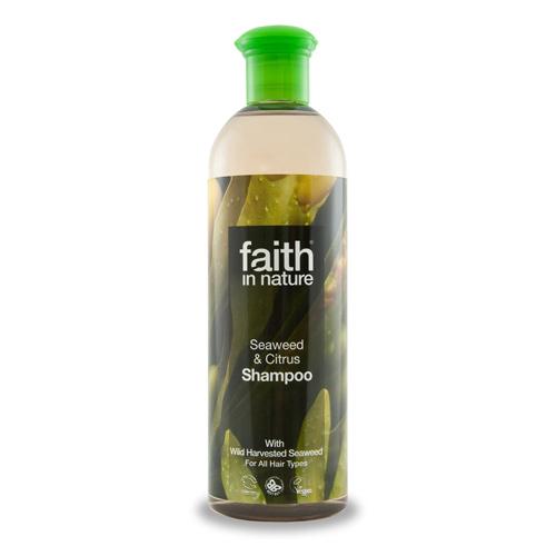 Faith In Nature Shampo alge ekstrakt - 250 ml.