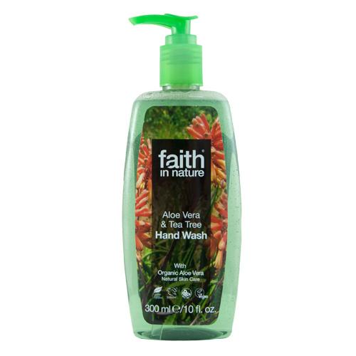Faith In Nature Håndsæbe aloe vera - 300 ml.