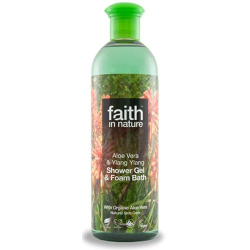 Faith In Nature Shower gel aloe vera - 400 ml.