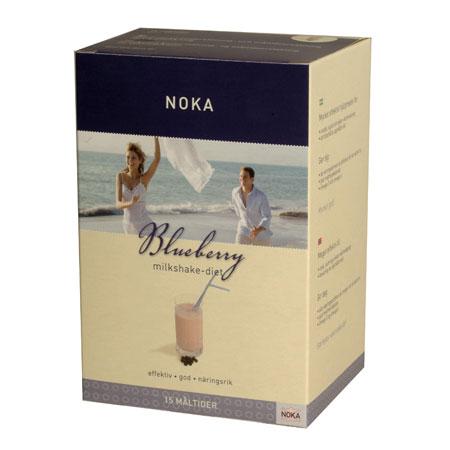 Image of Noka Diæten Milkshake blåbær - 525 gram
