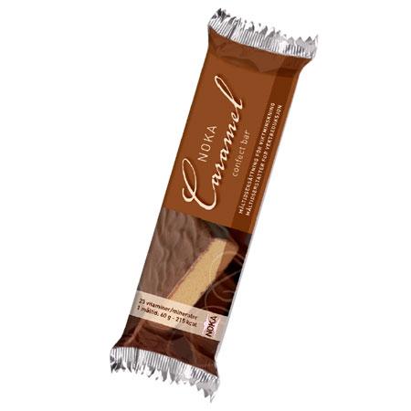 Image of Noka Diæten Confect bar karamel - 58 gram