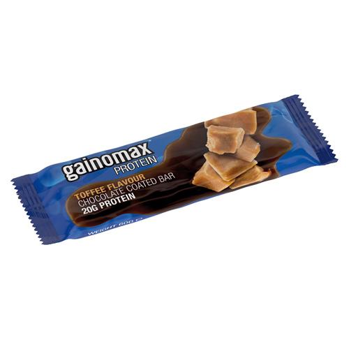 Gainomax Proteinbar med karamel - 60 gram